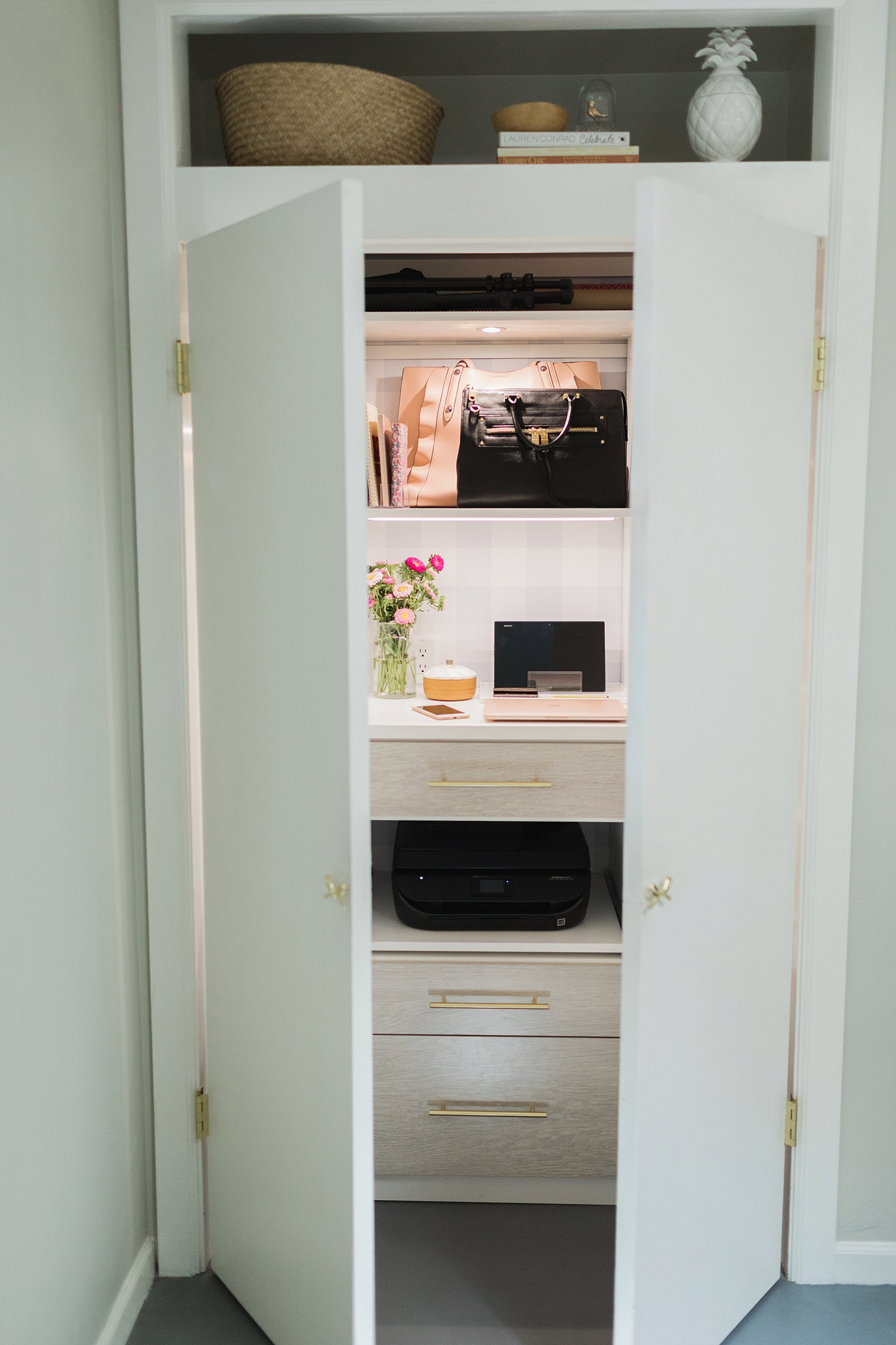 office closets. Office Closet Reveal Belonging To Photographer Blogger Diana Elizabeth In  Phoenix Arizona. Created By California Closets C
