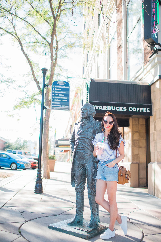 city of presidents South Dakota rapid city blogger Diana Elizabeth Washington statue