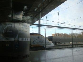 St Pancras with Eurostar