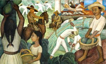 Diego Rivera Mural 2