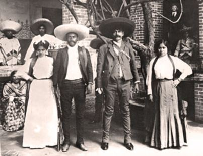 Zapata and Wife