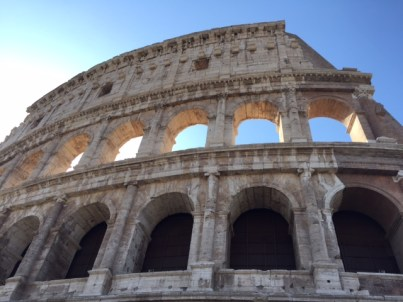 Day 2, the Colosseum
