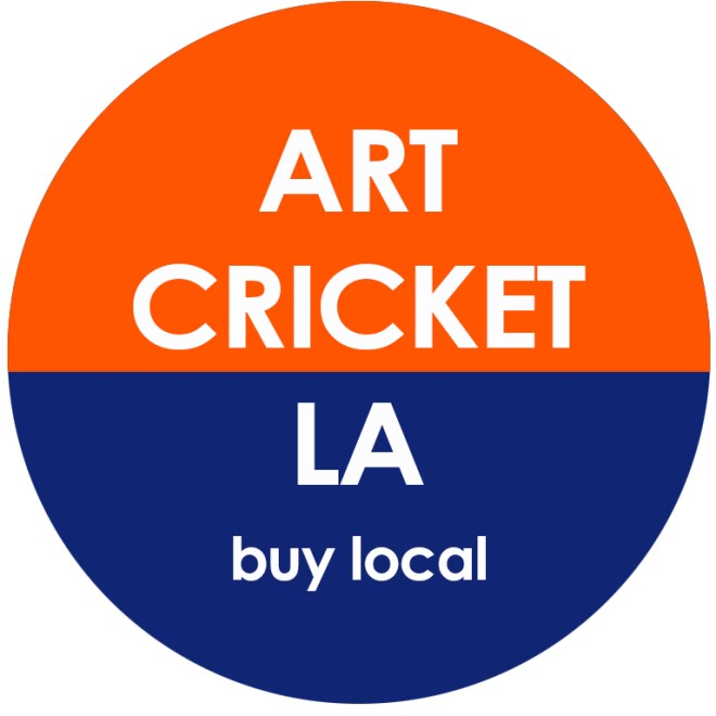 art cricket button
