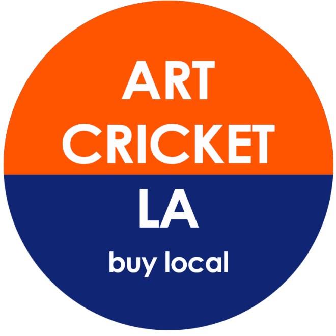 art cricket button