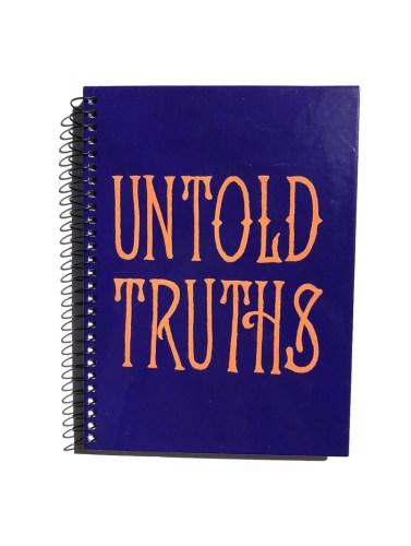 hand lettered journal