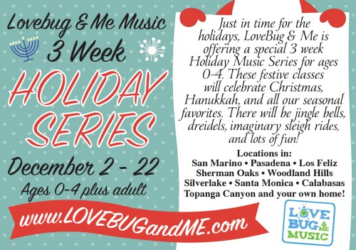 Holiday Flyer Design for Pasadena business