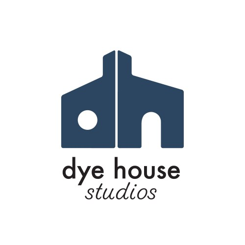 dye house logo by los angeles logo designer Diana Kohne