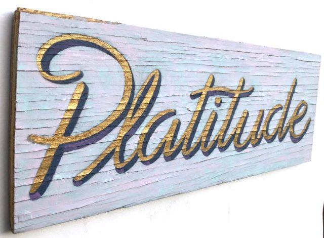 platitude sign art