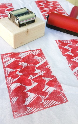 printmaking on fabric