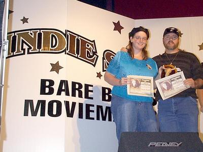 Bonehead award for Grey the Music Videos at Bare Bones Film Festival 2003