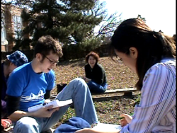Hebrew Projects students