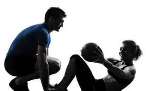 There are pros and cons to working with a personal trainer