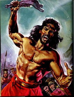 Samson was strong because the Lord was with him