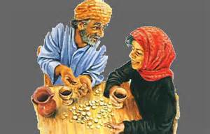 Ananias and Sapphira kept part of the money promised to God