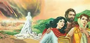 God allowed Lot and his family to escape as he destroyed the evil cities of Sodom and Gomorrah