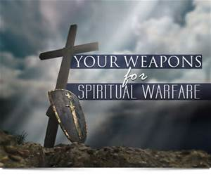 Spiritual warfare is real. Prayer and Bible Study are our shields.
