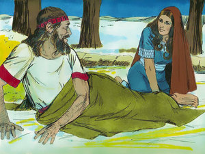 Ruth boldly approached Boaz
