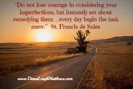 Do not lose courage quote