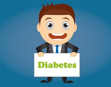 Diabetes is a common symptom found with PCOS