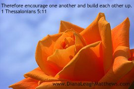 Take time to encourage one another