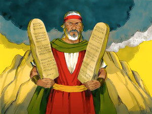 The Israelite were breaking the commandments even as God gave them to Moses. We continue to break them today and believe they are not relevant to us today--BUT THEY ARE.