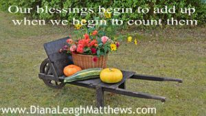 How do your blessings add up as you count them?