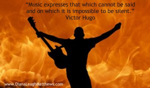 Music expresses that on which it is impossible to keep silent