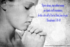 Do you pray without ceasing?
