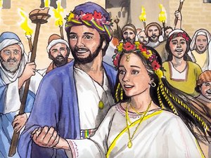 Joseph took Mary to be his wife