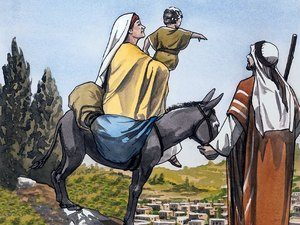 When it was safe Joseph returned with his family to Israel