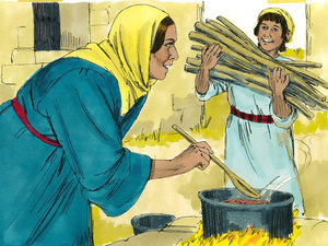 There is no record of Jesus after he is at the temple when he is 12, until he begins his earthly ministry