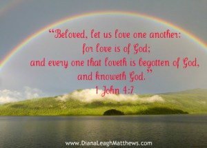 Do you show love to one another?