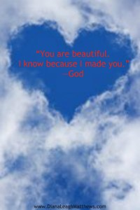 God loves you just the way you are