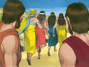 Uncertain Times in the Bible: Lot flees Sodom and Gomorrah
