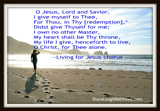 Behind the Hymn:  Living for Jesus