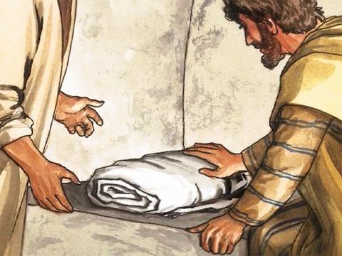 John, At the Resurrection