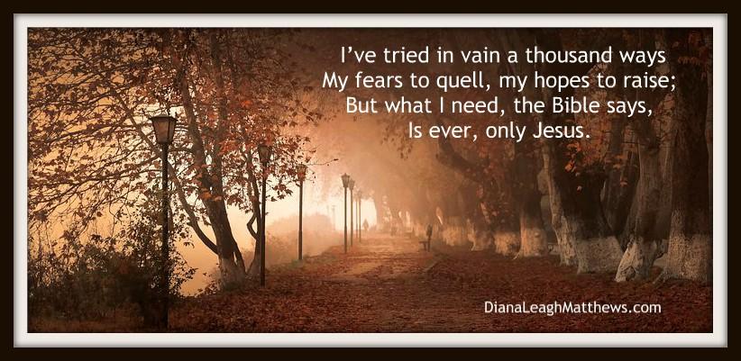 Hymn Story: In Jesus