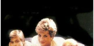 Princess Diana & Prince William & Prince Harry Photo (C) GETTY IMAGES