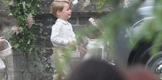 Prince George left Pippa's wedding in tears with mum Kate and sister Charlotte [Greg Brennan]