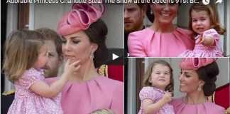 Adorable Princess Charlotte Steal The Show at the Queen's 91st Birthday