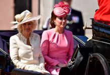 Camilla and Princess Kate at the Trooping of the Colour Photo (C) GETTY IMAGES