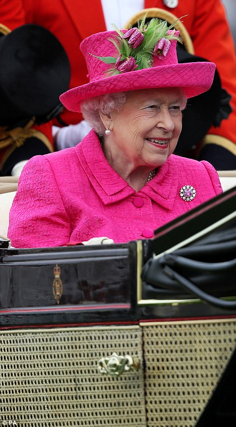 Fresh as a daisy! It's been a busy week for the Queen who has also contended with the worry of her husband being in hospital