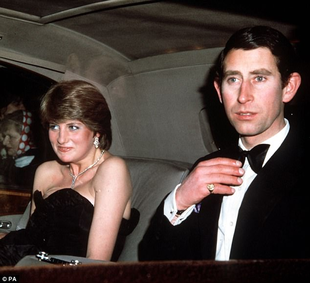 Friends claim Prince Charles wept the night before he married Lady Diana Spencer