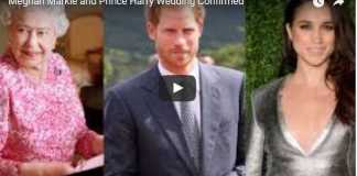 Meghan Markle and Prince Harry Wedding Confirmed
