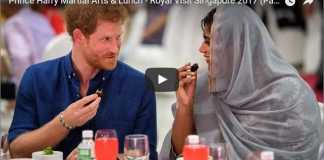 Prince Harry Martial Arts & Lunch - Royal Visit Singapore 2017 (Part 2) - Includes Video Footage