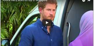 Prince Harry kicks off trip in Singapore
