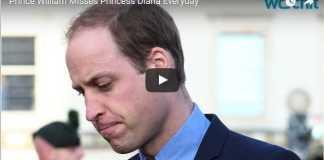 Prince William Misses Princess Diana Everyday