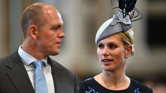 Princess Anne and Zara watch Mike Tindall play rugby Photo (C) GETTY IMAGES