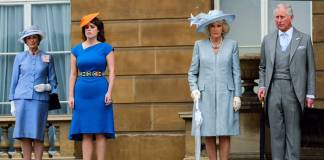 Princess Eugenie, Prince Charles, Camilla Parker Bowles Photo (C) GETTY IMAGES