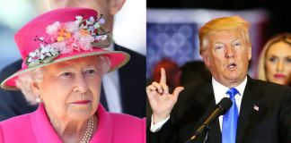 Queen Elizabeth and Donald Trump Photo (C) GETTY IMAGES